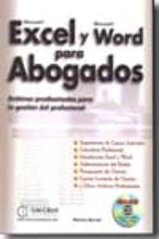 Descargar EXCEL Y WORD PARA ABOGADOS gratis pdf - leer online
