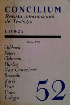 CONCILIUM 52. REVISTA INTERNACIONAL DE TEOLOGÍA - VVAA | Triangledh.org