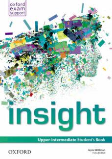 Libro de texto de descarga gratuita de libros electrónicos INSIGHT UPPER-INTERMEDIATE STUDENT S BOOK de