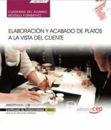 Titantitan.mx (Mf1053_2) Cuaderno Del Alumno. Elaboración Y Acabado De Platos A La Vista Del Cliente Image