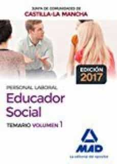 Padella.mx Educadores Sociales De La Junta De Comunidades De Castilla-la Mancha. Temario Especifico Image