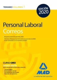 Vinisenzatrucco.it Personal Laboral De Correos Y Telégrafos. Temario Volumen 1 Image