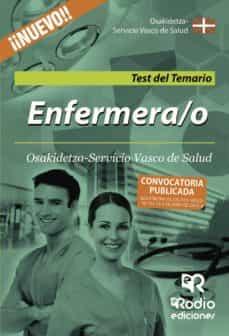 Inmaswan.es Enfermera/o De Osakidetza-servicio Vasco De Salud. Test Del Temar Io Image