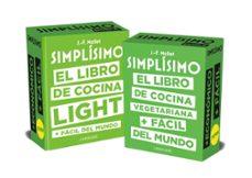Descargando libros gratis en google SIMPLISIMO DOBLE: LOS LIBROS DE COCINA SANA + FACILES DEL MUNDO LIGHT Y VEGETARIANA de JEAN-FRANÇOIS MALLET CHM PDF en español