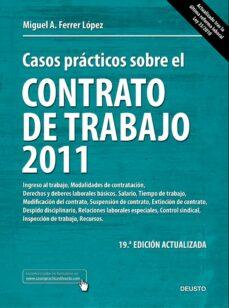 Vinisenzatrucco.it Casos Practicos Sobre El Contrato De Trabajo 2011 (19ª Ed.) Image