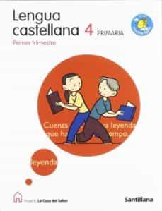 Cdaea.es Lengua: 4º Primaria La Casa Del Saber (Serie Mochila Ligera) Image