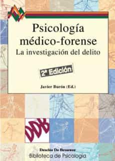 psicologia medico-forense: la investigacion del delito-9788433018199