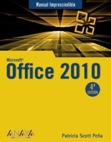 Descargar MICROSOFT OFFICE 2010 gratis pdf - leer online