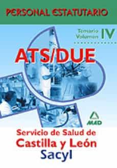 Chapultepecuno.mx Ats/due Servicio De Salud De Castilla Y Leon: Temario (Vol. Iv) P Ersonal Estatutario Image
