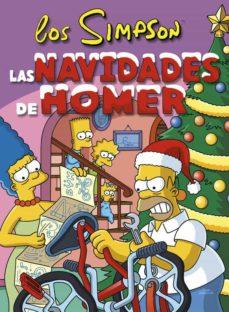 las navidades de homer-matt groening-9788466659499