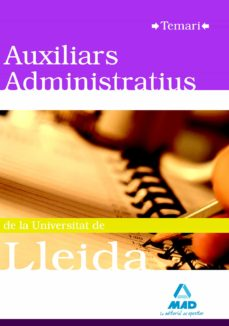 Vinisenzatrucco.it Auxiliars Administratius De La Universitat De Lleida. Temari Image