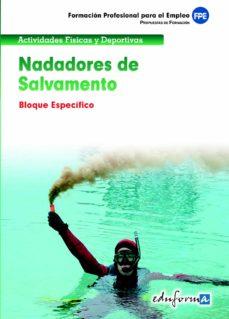 Emprende2020.es Nadadores De Salvamento. Bloque Especifico. Formacion Profesional Para El Empleo Image