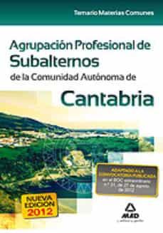 Cronouno.es Agrupación Profesional De Subalternos De La Comunidad Autónoma De Cantabria Image