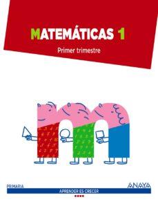 matemáticas 1.-9788467867299