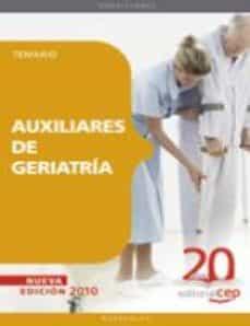 auxiliares de geriatria.temario-9788468105499