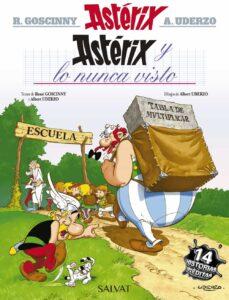asterix 32: y lo nunca visto-rene goscinny-9788469602799