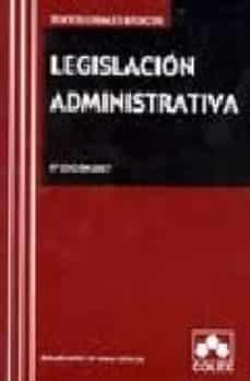 Vinisenzatrucco.it Legislacion Administrativa 6ª Edición 2007 Image