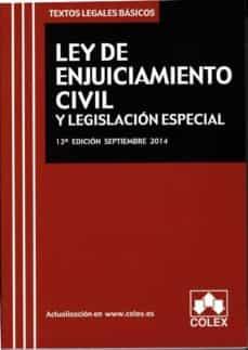 Javiercoterillo.es Ley De Enjuiciamiento Civil Y Legislación Especial Image