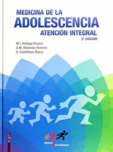 Descargando google books a la computadora MEDICINA DE LA ADOLESCENCIA de M. I. HIDALGO VICARIO  (Spanish Edition) 9788484739999