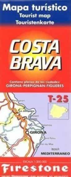 Upgrade6a.es Mapa Costa Brava T-25 [Material Cartografico] Image