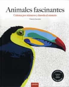 animales fascinantes: colorea por numeros y desvela el misterio-vincent jaunatre-9788490680599