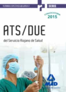 Elmonolitodigital.es Ats/due Del Servicio Riojano De Salud. Temario Específico Volumen 2 Image