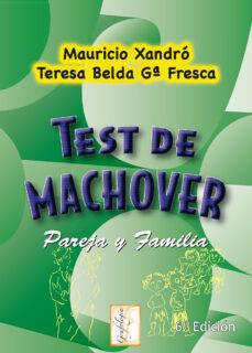 test de machover. pareja y familia-mauricio xandro-9788497272599