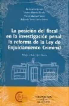 Permacultivo.es La Posicion Del Fiscal En La Investigacion Penal: La Reforma De L A Ley De Enjuiciamiento Criminal Image