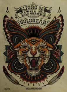 libro de tatuajes para colorear-9788498018899