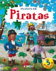 Mrnice.mx Libro Puzle De 24 Piezas: Puzles De Piratas Image