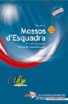 Vinisenzatrucco.it Mossos D Esquadra: Test: Primera Prova A: Coneixements: Vol. I Image