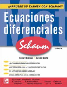 ecuaciones diferenciales (3ª ed.)-richard bronson-9789701065099