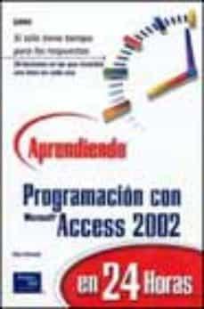 Inmaswan.es Aprendiendo Programacion En Microsoft Access En 24 Horas Image