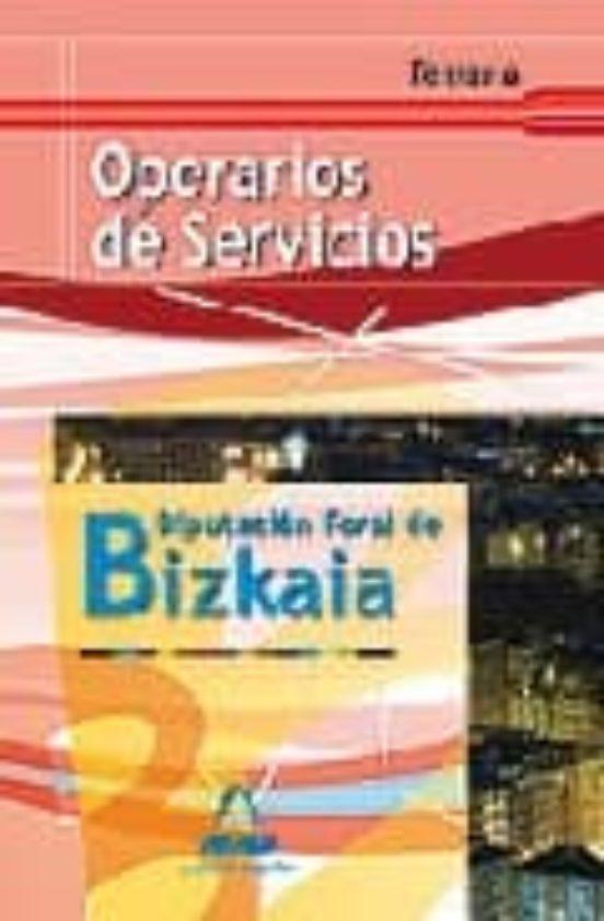 OPERARIOS DE SERVICIOS DE LA DIPUTACION FORAL DE BIZKAIA: TEMARIO