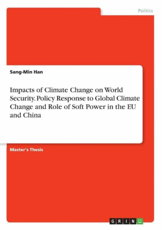 Master thesis climate change