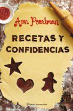 recetas y confidencias-anne pearlman-9788408096689