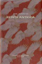 renta antigua-jon juaristi-9788498950779