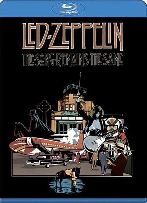 led zeppelin: the song remains the same (version original) (blu-r-7321970157116