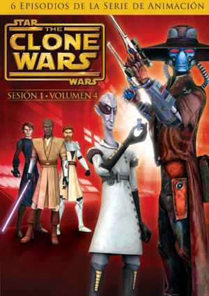 star wars: the clone wars - primera temporada vol. 4-5051893016406