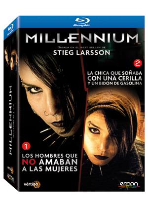 pack millennium 1 + millennium 2 (blu-ray)-8435153675614
