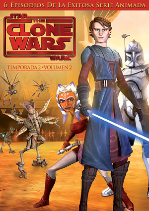 star wars: the clone wars - segunda temporada vol. 2 (dvd)-5051893033946