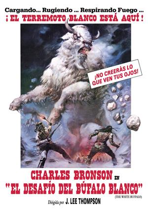 el desafio del bufalo blanco (dvd)-8420266953223