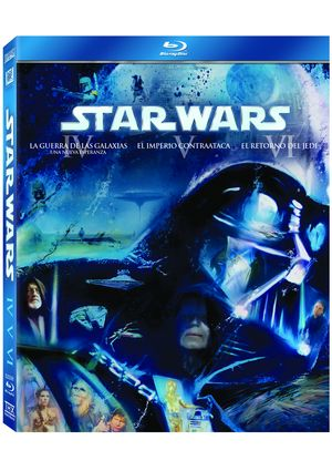 pack star wars: trilogia original (blu-ray)-8420266955807