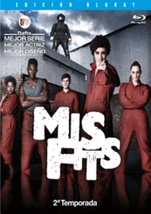 misfits: segunda temporada (blu-ray)-8435153709692