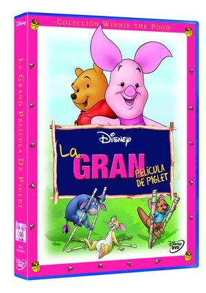 la gran pelicula de piglet: coleccion winnie the pooh (dvd)-8717418352547