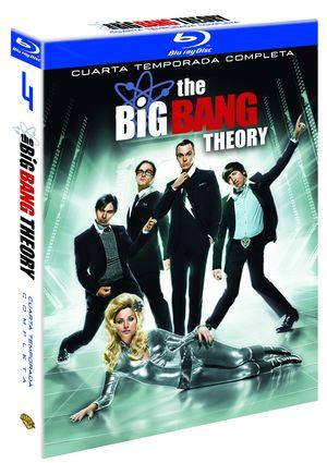 the big bang theory: temporada 4 completa (blu-ray)-5051893102499