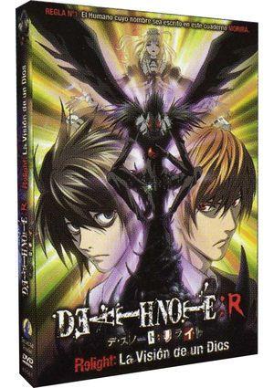 death note relight: la vision de un dios (dvd)-8414533082969