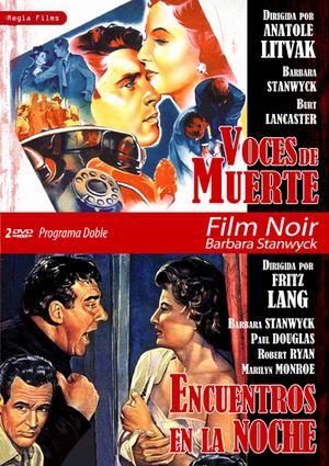 programa doble film noir barbara stanwyck (voces de muerte-encuen-8436037888915