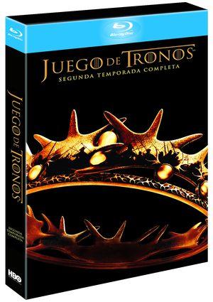 juego de tronos: segunda temporada completa (blu-ray)-5051893140484