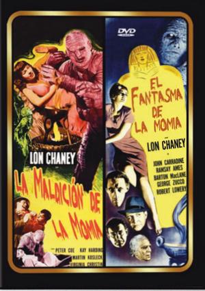 la maldicion de la momia + el fantasma de la opera (dvd)-8436022308596